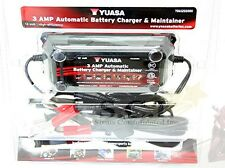 HONDA CBR600 CB750 YUASA 3 Amp Battery Charger Tender Maintainer YUA1203000