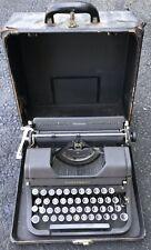 Vintage US Coast Guard Underwood Elliott Fisher Universal Typewriter Case