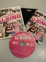 U-Sing for Nintendo Wii(no Mic)