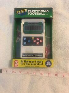 Electronic Football Game Handheld  Mattel Classic Retro