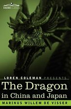 The Dragon in China and Japan, Visser, W. 9781605204093 Fast Free Shipping,,