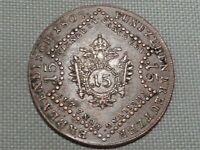 Holy Roman Empire Austria 1807 A 15 Kreuzer Kaiser Franz II Crowned Double Eagle