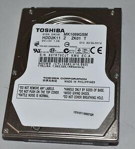 1TB Toshiba MK1059GSM SATA-II HDD 2,5 Zoll Notebook - Festplatte