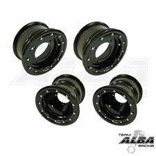 TRX 450r 400ex 300ex  Front  Rear Wheels  Beadlock 10x5 9x8  Alba Racing B/B  41