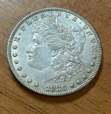 1880 P Morgan SILVER DOLLAR  Toned