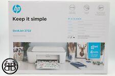 HP DeskJet 2722 All-in-One Wireless Printer
