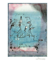 """Paul Klee signed and numbered  """"Twittering Machine"""""""