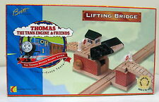 Thomas, Wooden, LIFT BRIDGE, BROWN LABEL ORIGINAL BOX, BRITT ALLCROFT 1995,  EUC