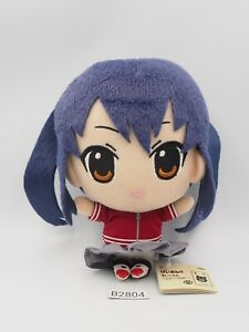 "K-On! B2804 Azusa Nakano Banpresto 2011 Plush 6"" TAG Toy Doll Japan"