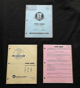 1953 JOHN DEERE A B D G H M R MT AH AN BN BW GH GN HN HNH HWH TRACTOR I T MANUAL