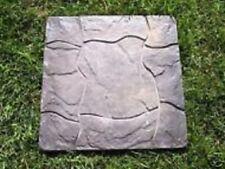 Paver brick stepping stone mold concrete heavy duty plastic reusable mould