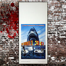 Locandina Originale Lo Squalo 3 - Jaws 3 - Size 33x70 CM - 3D Edition
