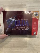 Brand New - Zelda Ocarina of Time Master Quest Game Nintendo N64 - Sealed - VGDB