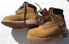 Sean John boots size 10.5, 11 Shoes brown tan boy girl toddler Christmas LOOK Nw