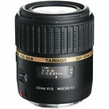 Second Stock Tamron SP 60mm F2 Di II LD Macro 1:1 Lens - Canon Fit