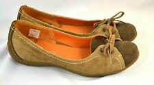 Women's Merrell Flats Mary Jane Loafers Brown Leather Oasis 7.5
