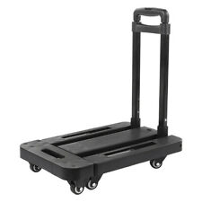 Compact Folding Aluminium Hand Truck Trolley Luggage Cart Foldable Dolly Push US