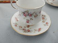 Rosina - Queens China ROSAMUND 1 Cup and 2 Saucers EXCELLENT vintage floral
