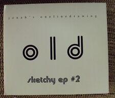 ONELINEDRAWING Sketchy EP #2 CD EP late-90's indie-folk CI digipak Gratitude Far