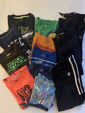 Boys Kids Size:7 Clothing Bundle Of 13 T-shirts Pants PJ Carter's Uniqlo NB etc