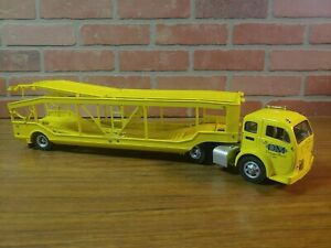 Danbury Mint ~ 1952 Yellow 4 Car Carrier Rare Diecast
