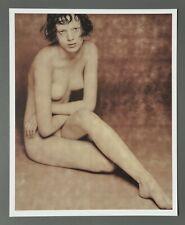 Karl Lagerfeld Limited Edition Photo Print 29x36 Karen Elson 1997 Model Nude Akt
