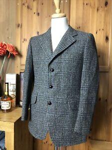 1144 Vintage Harris Tweed Jacket size 38 S
