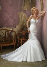 Mori Lee Wedding Gown-Style #1653-Ivory-Size 6-Beautiful