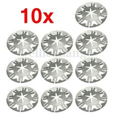 10x Exhaust Heat Shield Clip Nut Washers for VW TRANSPORTER T4 T5 GOLF LUPO POLO