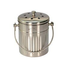 Stainless Steel Kitchen Compost Caddy / Compost Bin - Kilner - 2L size