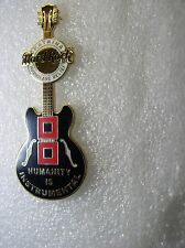 ON LINE,Hard Rock Cafe Pin, Katrina Hurricane relief Humanity is Instrumental