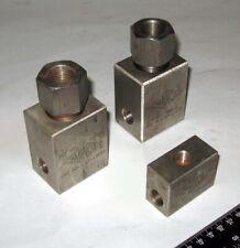Aminco Stainless Steel High Pressure Reactor Tee Fittings