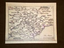 Mappa Roma Theatrum Orbis Terrarum 1724 Abraham Ortelius Ortelio Ristampa