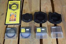Lot of Assorted Cokin Filters and Filter Holders
