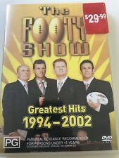 THE FOOTY SHOW GREATEST HITS 1994-2002- DVD R ALL