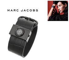 MARC BY JACOBS WOMEN'S CROCO BLACK WATCH MBM1395