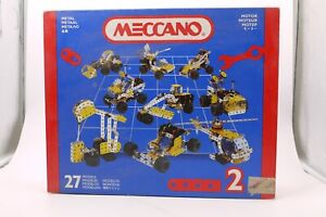MECCANO ERECTOR 030402 METAL CONSTRUCTION SET USED INCOMPLETE