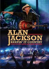 ALAN JACKSON - KEEPIN' IT COUNTRY : LIVE AT RED ROCKS DVD ~ NTSC *NEW*