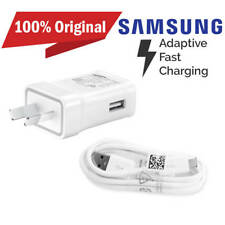New Genuine Samsung Adaptive Fast Wall Charger+ USB Cable for S7 S6 Edge Note 4