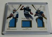 MARIOTA HENRY DAVIS - 2017 IMMACULATE - TRIPLE JERSEY - #20/25 - TITANS -