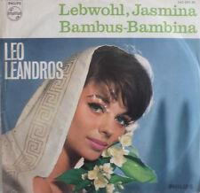 "7"" 1962 RARE VG +! Leo Leandros: arrivederci Jasmina"