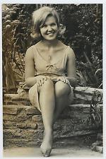Frances Barlow  Vintage silver print,Frances Barlow, Self: Crackerjack!. Franc