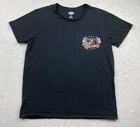 Dickies Men's Gas Monkey Garage Blood Sweat Gears Short Sleeve T Shirt size L
