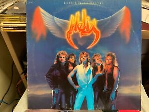 Helix Long Way To Heaven LP 1985 Capitol Records ST 512411