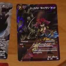 ONE PIECE MIRACLE BATTLE CARDDASS CARD RARE HOLO CARTE SR 39/86 A JAPAN **