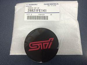 Genuine Subaru STi Wheel Center Cap Impreza WRX STi BBS Wheels 28821FE141 04-18