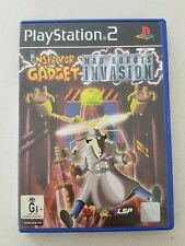 PS2 GAME - INSPECTOR GARDGET MAD ROBOTS INVASION - with manual - PLAYSTATION 2