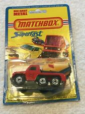 Matchbox 19, Cement Mixer, 1976, Mint on a Mint card, Lesney Products, England