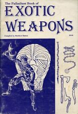 Book Of Exotic Weapons #409 Palladium Dungeons Dragons Supplement of Arms Armor