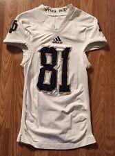 Notre Dame Football 2012 Ireland & Oklahoma #81 John Goodman Game Used Jersey